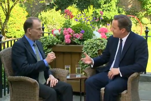 Andrew Marr interviews David Cameron about Syria